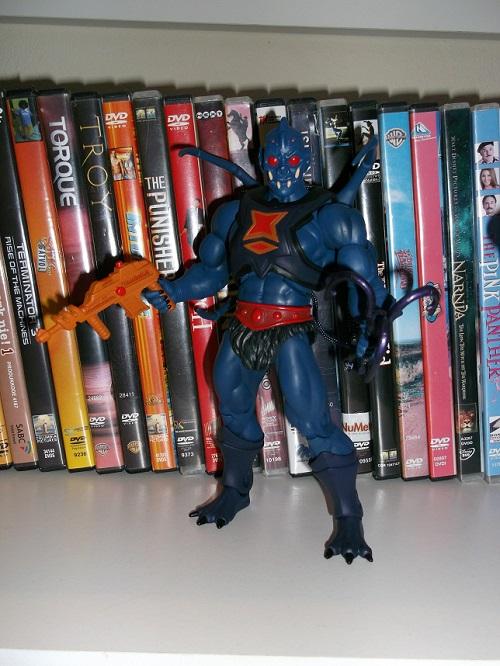Vintage MOTU Masters of Universe He-Man Axe Weapon silver gray Part Original